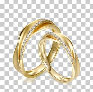 Wedding Ring Marriage Jewellery Diamond PNG