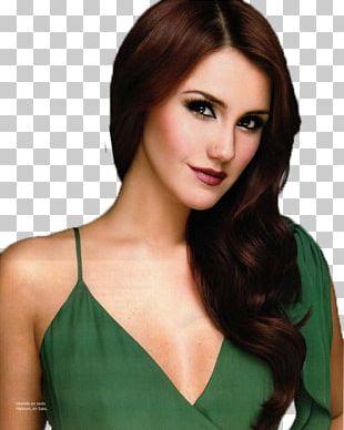 Dulce María Model Long Hair Brown Hair PNG