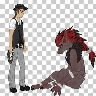 Demon Horse Costume Design Cartoon PNG