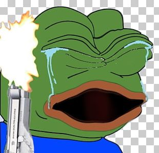 Pepe The Frog Meme The Frog Report Crying PNG