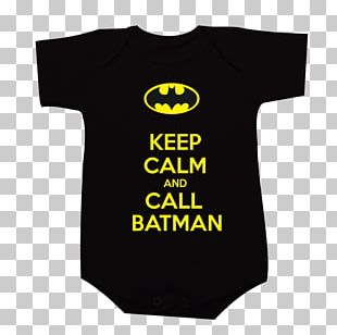 T-shirt Keep Calm And Carry On Batman Poster PNG