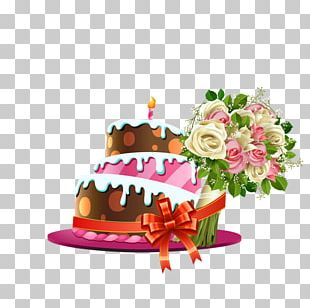 Birthday Cake Torte Bakery Cake Decorating Wedding Cake PNG