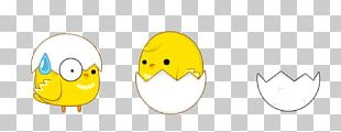 Smiley Chicken Cartoon PNG