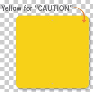 Rail Transport Sign Yellow Brand Safety PNG