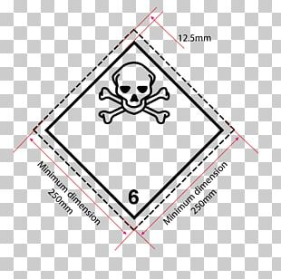 Dangerous Goods HAZMAT Class 6 Toxic And Infectious Substances Label HAZMAT Class 9 Miscellaneous Material PNG