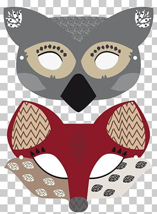 Animal Mask Carnival Dog Costume PNG