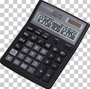 Scientific Calculator Casio SL-300VER Calucalor Black Citizen Office Black PNG