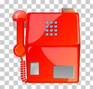Telephone Payphone Mobile Phone Icon PNG
