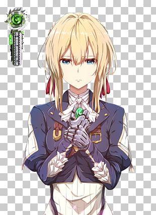 Violet Evergarden Anime Fan Art Manga PNG