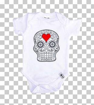 Baby & Toddler One-Pieces T-shirt Death Sleeve Human Skull Symbolism PNG