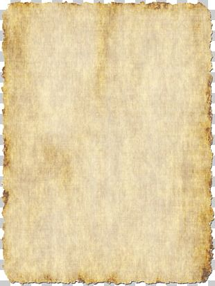 Paper Parchment Stationery Template Scroll PNG