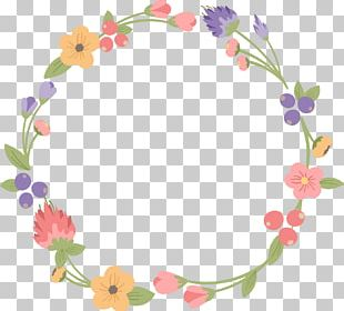 Wreath Floral Design Free Content PNG