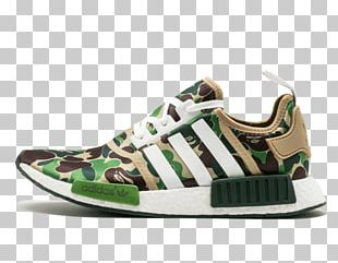 Adidas NMD R1 Bape A Bathing Ape Sports Shoes PNG