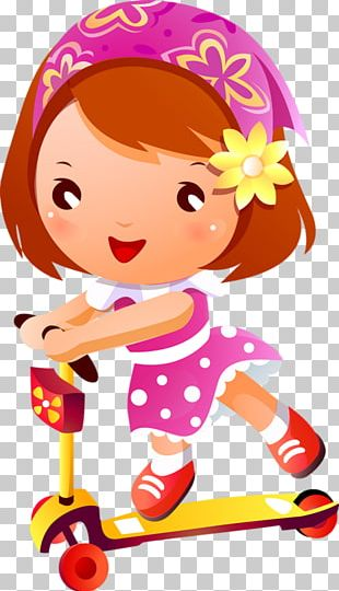 Kick Scooter Child PNG
