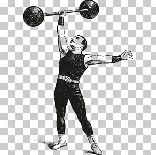 Strongman Barbell Olympic Weightlifting Dumbbell Exercise PNG