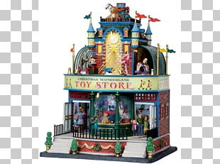 Toy Shop Christmas Shopping Cart Fair PNG
