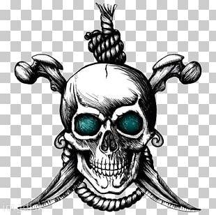 Jolly Roger Tattoo Artist Drawing Skull PNG