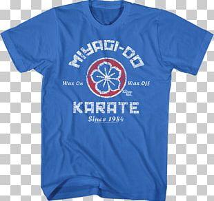 Mr. Kesuke Miyagi T-shirt The Karate Kid Series Martial Arts Film PNG
