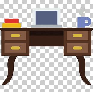 Desk Table Scalable Graphics Icon PNG