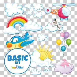 Balloon Line Graphic Design PNG
