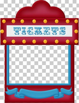 Circus Traveling Carnival Ticket PNG