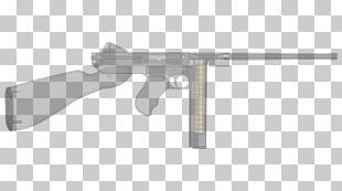 Gun Barrel Firearm トンプソンM1短機関銃 Thompson Submachine Gun PNG