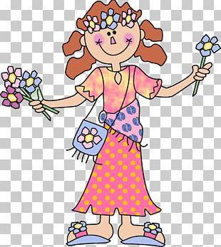 Hippie Woman PNG