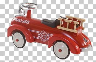 Vintage Car Fire Engine Fire Department Custom Motorcycle PNG
