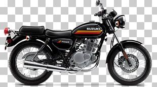 Suzuki TU250 Motorcycle Single-cylinder Engine Cruiser PNG
