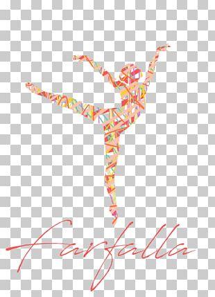 Ballet Dancer Poster Art PNG
