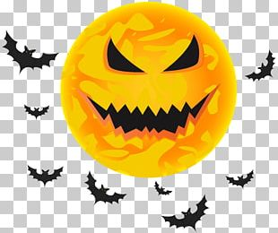 Halloween Black Moon PNG