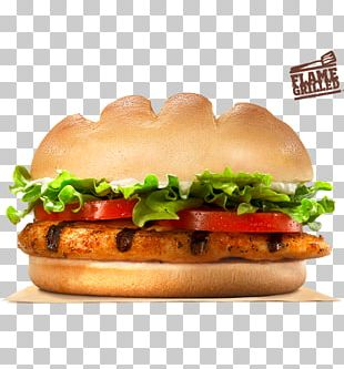 Burger King Grilled Chicken Sandwiches Whopper Burger King Specialty Sandwiches Hamburger PNG