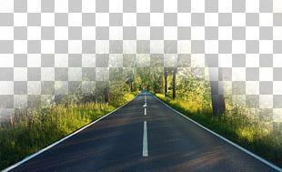 Highway Road PNG