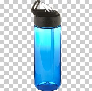 Water Bottles Plastic Bottle Glass Cobalt Blue PNG