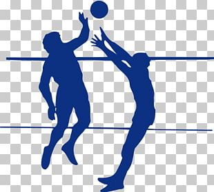 Beach Volleyball Silhouette Sport PNG