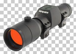 Aimpoint AB Red Dot Sight Reflector Sight Firearm PNG