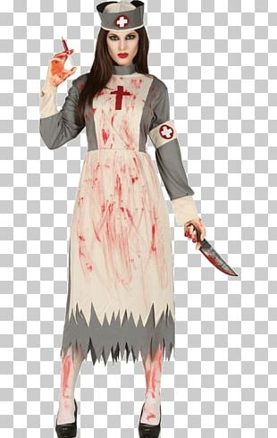 Costume Party Dress Nursing Halloween Costume PNG