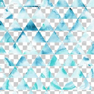 Hipster Triangle Pattern PNG
