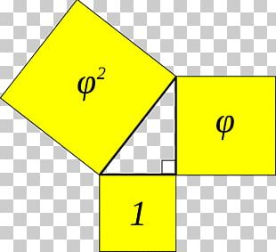 Kepler Triangle Golden Ratio Right Triangle Geometric Progression PNG