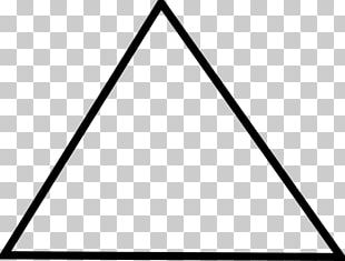Equilateral Triangle Shape Right Triangle PNG