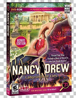 Nancy Drew: Labyrinth Of Lies Nancy Drew: Secret Of The Old Clock Nancy Drew: Ghost Of Thornton Hall Her Interactive PNG