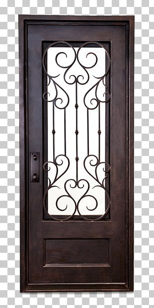 Wrought Iron Window Door Steel PNG