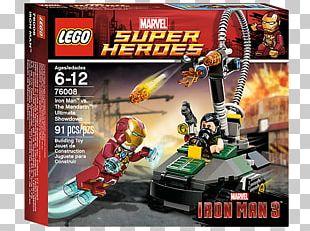 Lego Marvel Super Heroes Mandarin Iron Man Extremis War Machine PNG