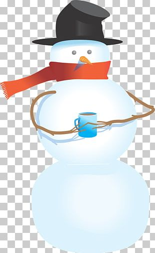 Snowman Cartoon Winter PNG