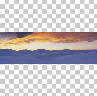 White Sands National Monument Photography Panorama Poster PNG