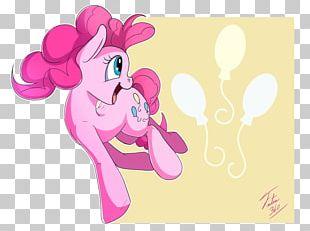 Illustration Horse Design Pink M PNG