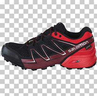 Laufschuh Shoe Sneakers Salomon Group Trail Running PNG