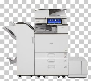 Multi-function Printer Ricoh Printing Photocopier PNG