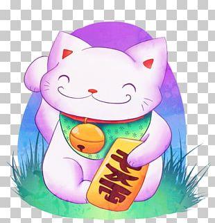Cat Japan Hello Kitty Maneki-neko Luck PNG