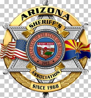 Arizona Association Of Counties Badge Sheriff Police PNG